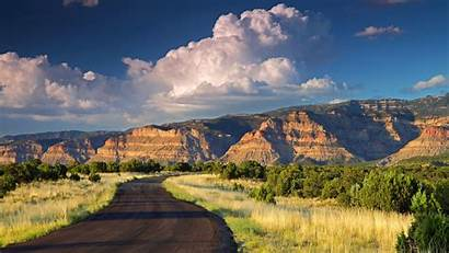 Utah Nature Mountain Mountains Clouds Wallpapers Classic