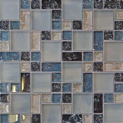 mosaic tiles backsplash kitchen 1 sf blue crackle glass mosaic tile backsplash kitchen