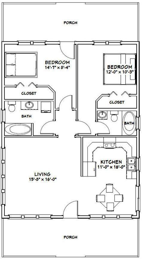 house  bedroom  bath plan  sq ft   house plans cabin floor plans