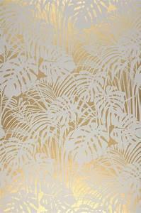 Papier Peint Photo : papier peint persephone dor brillant blanc gris ~ Melissatoandfro.com Idées de Décoration