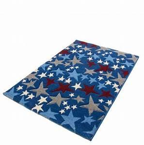 Teppich Stern Blau : kinderteppich sterne blau haus deko ideen ~ Markanthonyermac.com Haus und Dekorationen