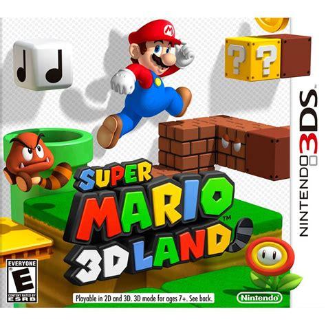 El catálogo de nintendo 3ds guarda una gran cantidad de juegos de calidad que están esperando a ser descubiertos por los jugadores. Videojuego Nintendo 3DS Super Mario 3D Land *Hasta agotar ...