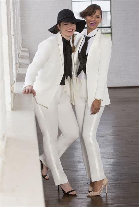lesbian wedding tuxedos