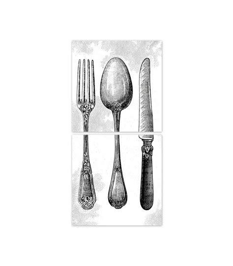 couverts de cuisine stickers pour carrelage de cuisine couverts silver wadiga com