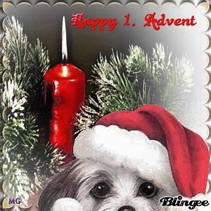 Happy 1 Advent : happy 1 advent my friends sch nen 1 advent meine ~ Haus.voiturepedia.club Haus und Dekorationen