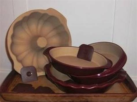 clean pampered chef stoneware hunker
