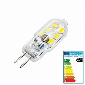 Ampoule G4 Led : ampoule 12 led g4 100 200 lm 3w camping car caravane ~ Edinachiropracticcenter.com Idées de Décoration