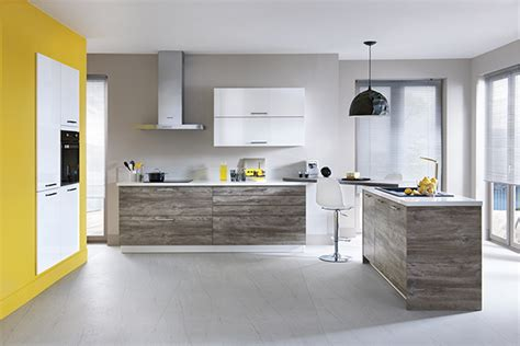 cuisine grise et jaune davaus deco cuisine gris et jaune avec des idées