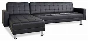 Barcelona sofa bed sectional with chaise modern for Sofa barcelona couch