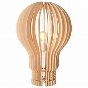 Lampe A Poser : lampe poser ampoule la chaise longue absolument design ~ Nature-et-papiers.com Idées de Décoration