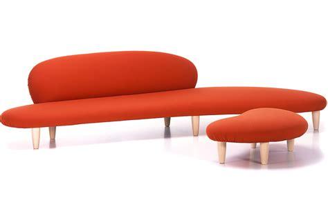 noguchi freeform sofa and ottoman hivemodern com