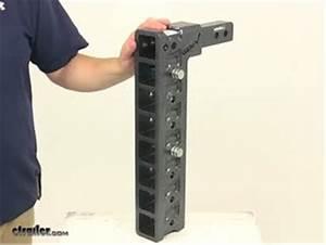Replacement Shank For Gen-y Adjustable Ball Mount - 2 U0026quot  Hitch - 17-1  2 U0026quot  Drop