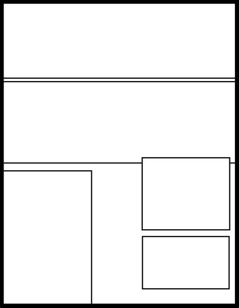 manga template   manga templatedeviantartcom