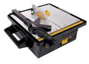 qep tile saw 4 in qep 60088 7 quot portable tile saw for sale