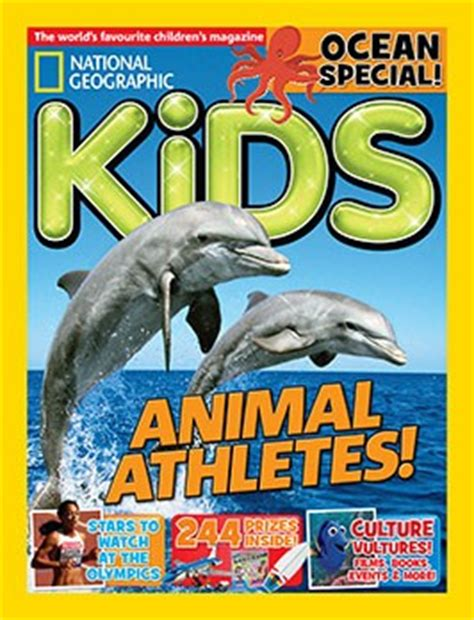 National Geographic Kids Magazine Subscription Let's