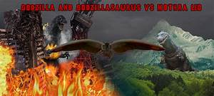 Godzilla and Godzillasaurus vs Mothra Leo by Nagoda on ...