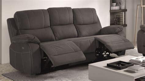canape relax design canapé de relaxation 3 places moderne en tissu