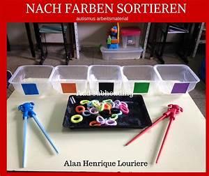 Bücher Nach Farben Sortieren : autismus arbeitsmaterial nach farben sortieren teacch materialien pinterest autismus ~ Markanthonyermac.com Haus und Dekorationen