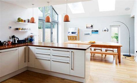 kitchen diners designs ideas 15 of the best open plan kitchens homebuilding renovating 4690