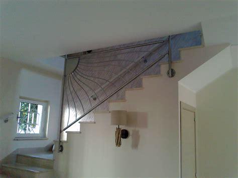 ringhiera per scale interne ringhiera per scala intera con fissaggio a solaio