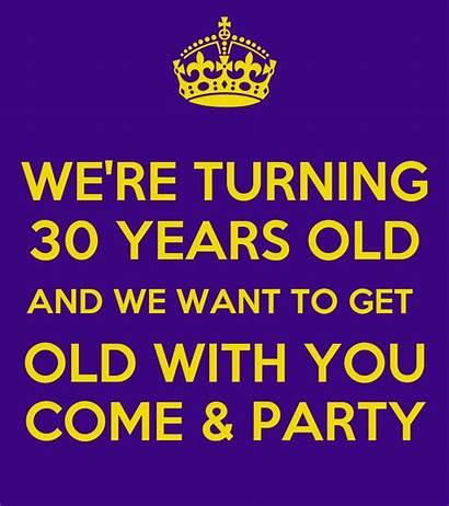 Party Turning Re Come Want Don Poster