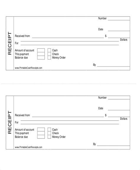 exles of cash receipts image cash payment receipt