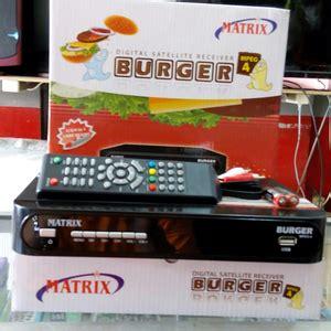 Harga Matrix Burger Android fitur dan spesifikasi receiver matrix burger mpeg4
