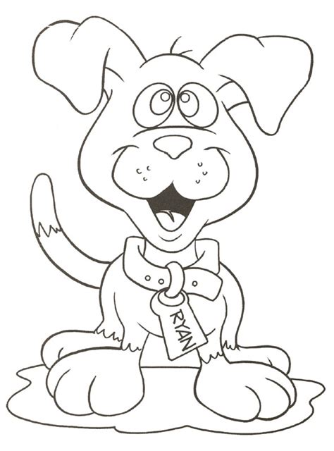 12 free printable cute puppies coloring sheet
