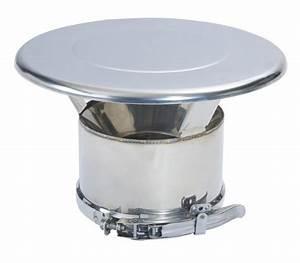 Chapeau Inox Pour Tubage : finition chapeau duoten po le granul s comptoir du po le ~ Edinachiropracticcenter.com Idées de Décoration