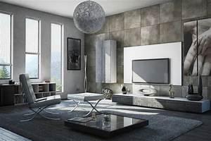 Wohnzimmer Bild Grau : wandgestaltung im wohnzimmer 85 ideen und beispiele ~ Michelbontemps.com Haus und Dekorationen