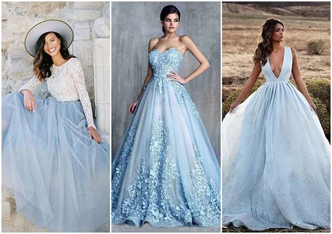 colored wedding dresses instead of white true blue weddings