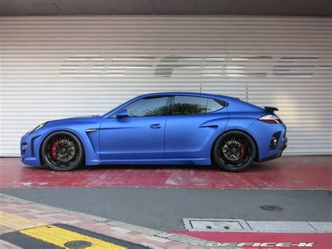 porsche panamera 2015 blue fab design panamera in matte blue by office k autoevolution