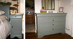 Relooking Chambre Coucher Lit Commode Relooking