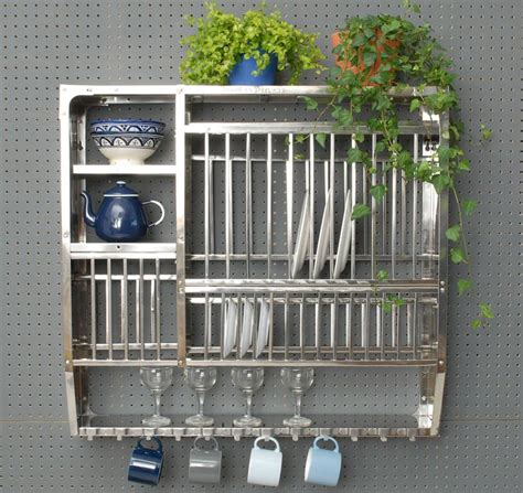 stainless steel plate rack large kitchen pinterest plate racks stainless steel  products