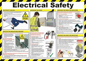 Electric Safety Poster from Safety Sign Supplies