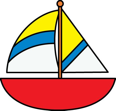 Free Clipart Of Boat by Sailboat Clip Sailboat Images