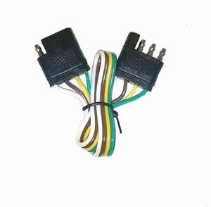 12 U0026quot  Trailer Light Wire Harness 4 Way Wire Flat Connector