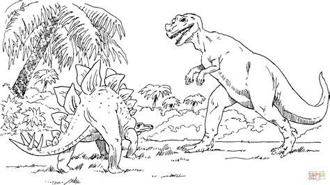 Kleurplaat Indominus Rex by Indominus Rex Coloring Coloring Pages