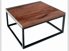 Live Edge Coffee Table Contemporary Rustic Coffee Tables