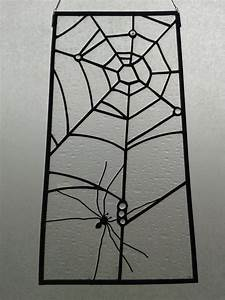 2188 best stained glass images on pinterest stained With what kind of paint to use on kitchen cabinets for spider web candle holder