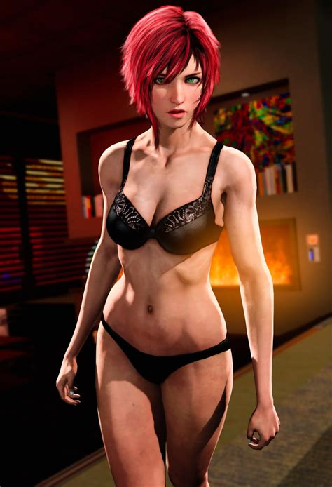 rule 34 2019 3d bra commander shepard female female only femshep femsub freckles green eyes