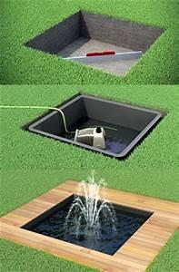 Bassin Exterieur Preforme : bassin de jardin pr form rond couvercle en ~ Premium-room.com Idées de Décoration