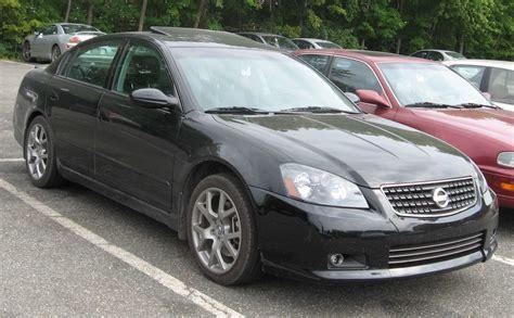 2006 Nissan Altima Partsopen