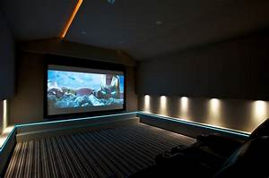 Home Theater Floor Lighting | Interesting Ideas for Home