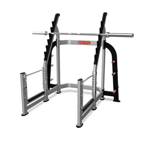 squat rack star trac commercial gym equipment