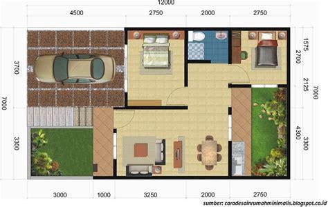 gambar rumah minimalis ukuran  gambar om