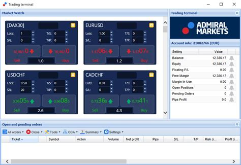 trading terminal trade terminal is a powerful new metatrader add on