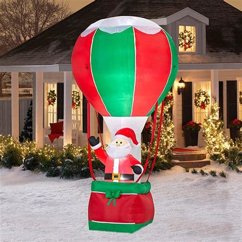 inflatable christmas decorations  collection  ideas