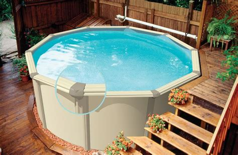 Best Images About Above Ground Pool Deck And Landscape