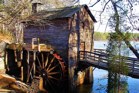 Stone Mountain Grist Mill By Janie Oliver Redbubble